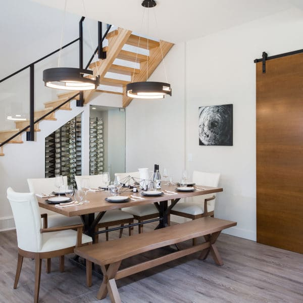 Freeport PNE Prize Home 2017 Dining Room and Stairwell