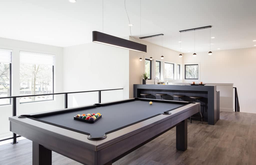 Freeport PNE Prize Home 2017 Games Room Pool Table