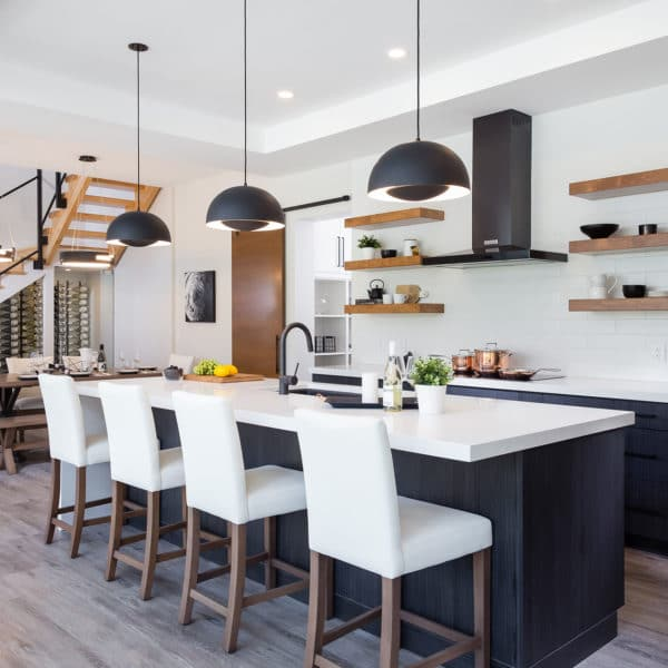 Freeport PNE Prize Home 2017 Kitchen and Dining Room