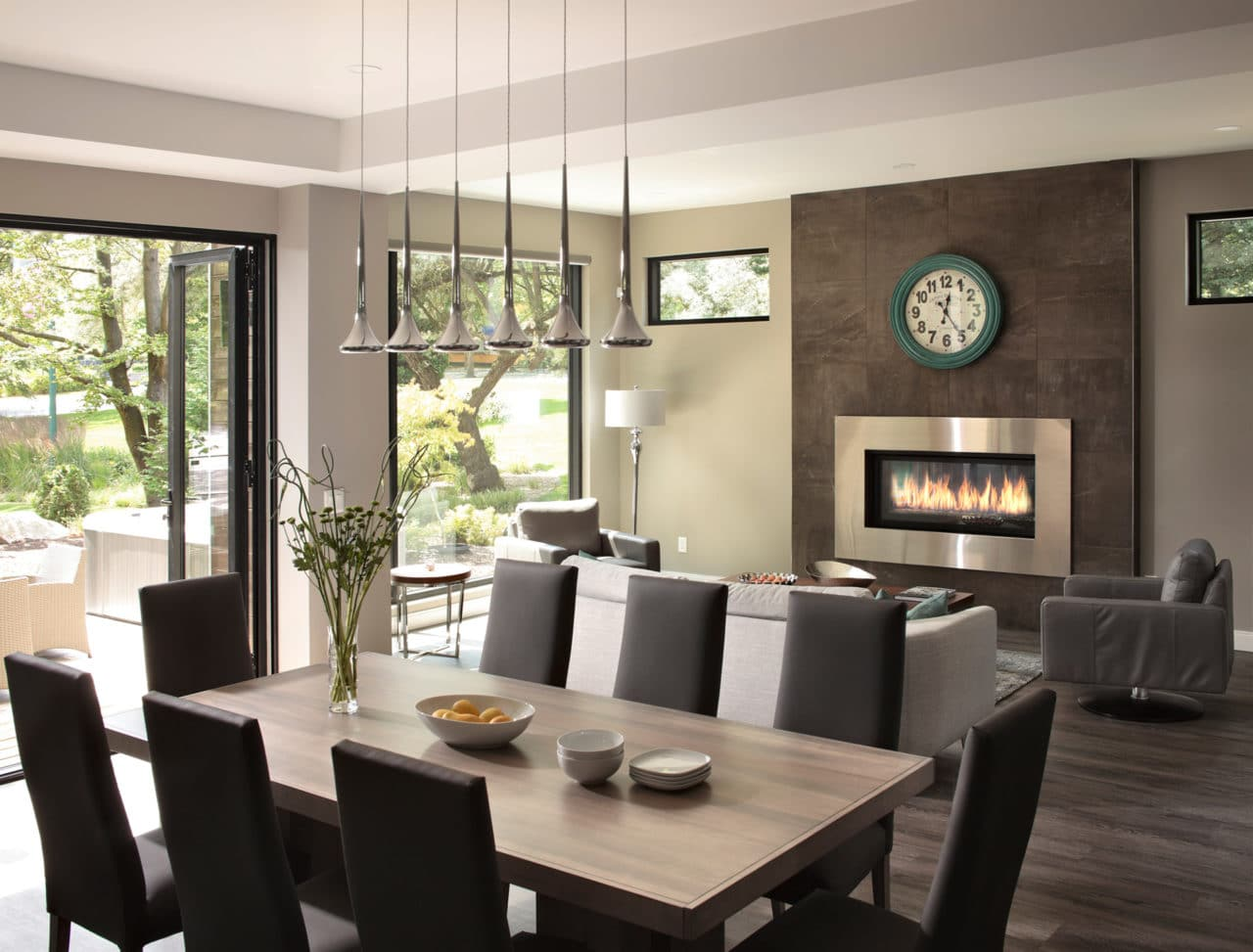 Freeport PNE Prize Home 2016 Dining and Living Room