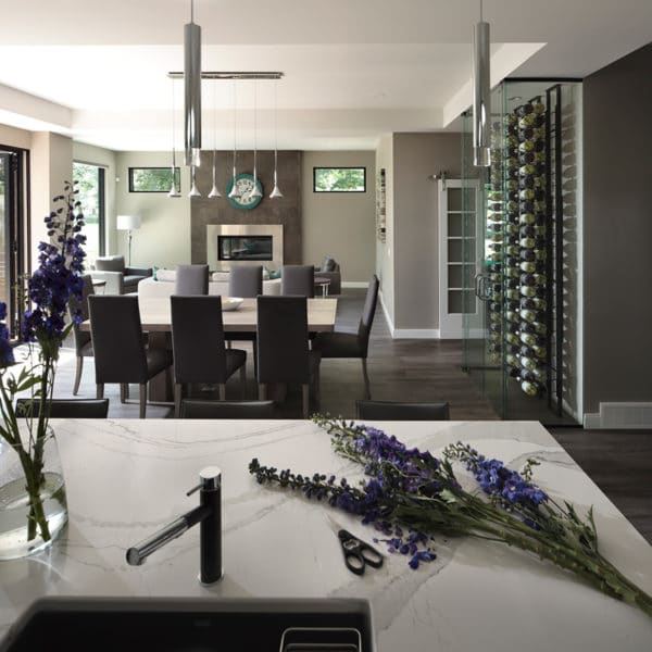 Freeport PNE Prize Home 2016 Kitchen and Dining Room
