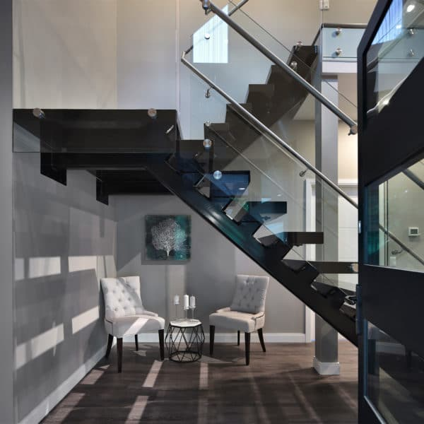 Freeport PNE Prize Home 2016 Second-level Stairs