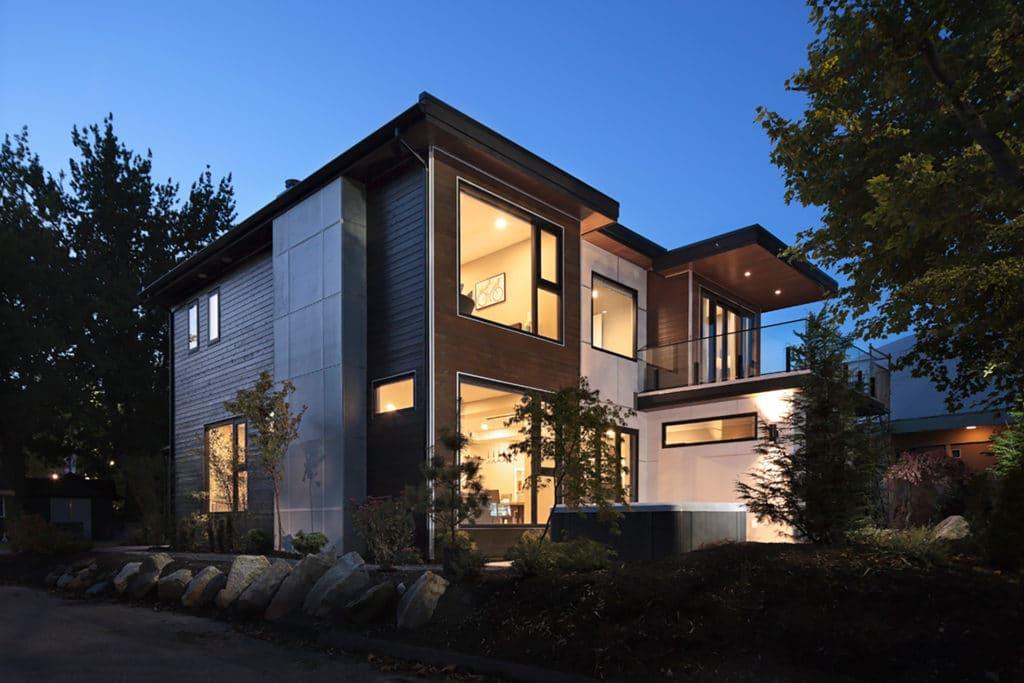 Freeport PNE Prize Home 2016 Exterior Night
