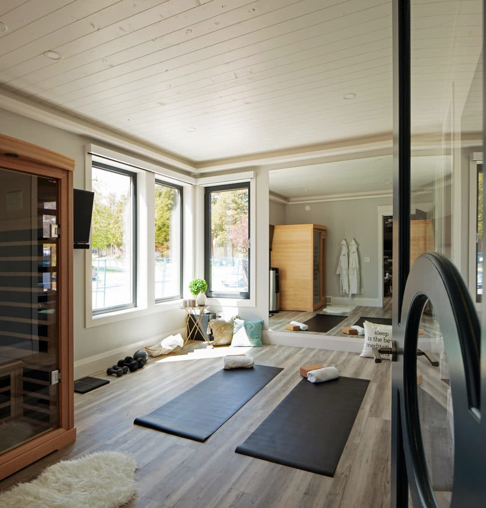 Freeport PNE Prize Home 2018 Exercise Room