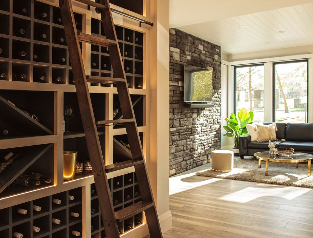 Freeport PNE Prize Home 2018 Wine Cellar