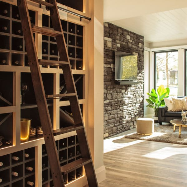 Freeport PNE Prize Home 2018 Wine Cellar