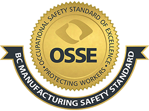 OSSE Occupational Safety Standard of Excellence Seal