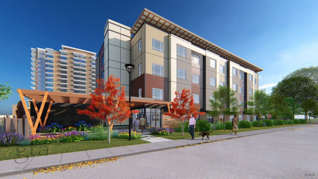 51 Unit Four storey building BC Housing project awarded to Freeport Industries